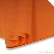 Seidenpapier orange